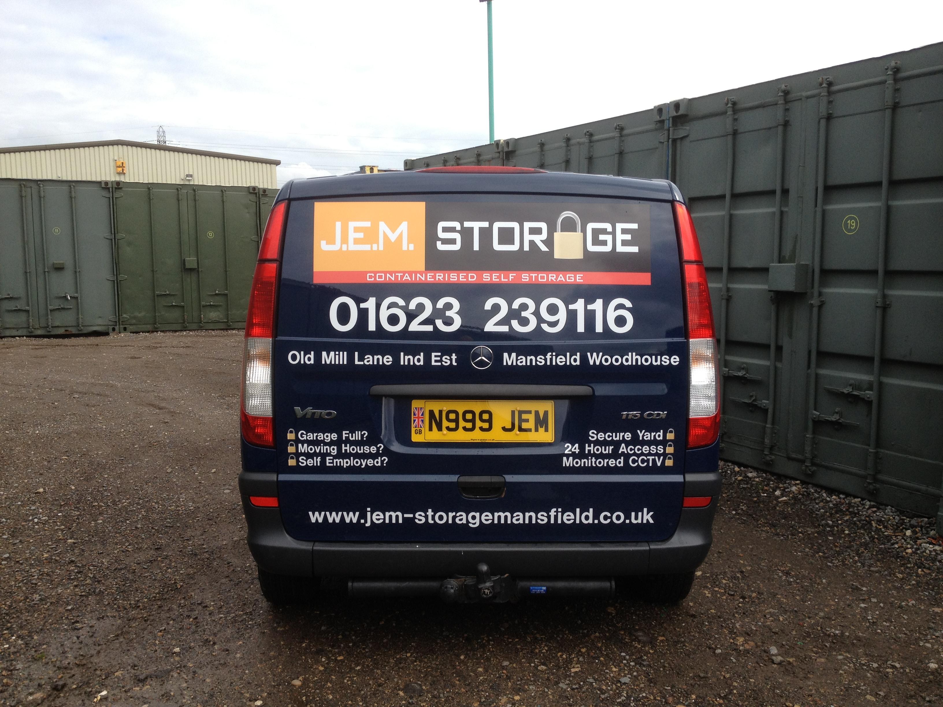 JEM Storage Van