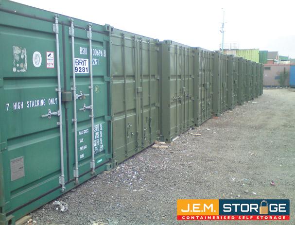 Storage Containers 171 J E M Self Storage Mansfield Self